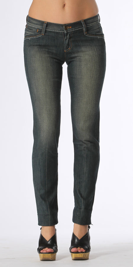 Medium Wash Blue Boot Cut Jeans