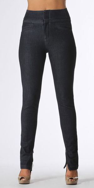 Deep Blue High Waisted Skinny Jeans