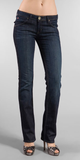 Hudson Carly Straight Leg Jeans in Market