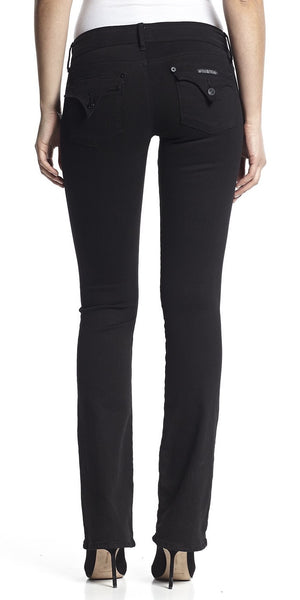 Black Beth Baby Bootcut Jeans