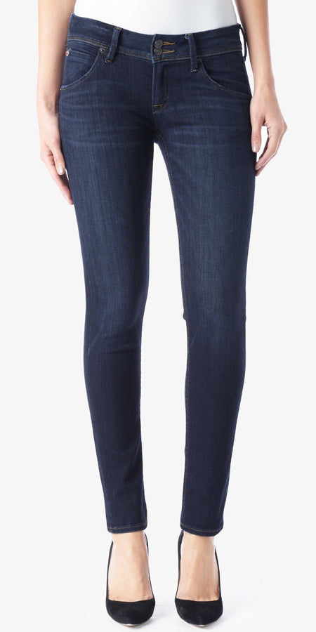 Nico Midrise Super Skinny Jeans in Rogue Waves
