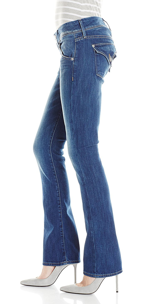 Hudson Beth Baby Bootcut Jeans in Super Vixen