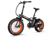 Image of Addmotor Motan M-150 500W 48V Fat Tire Folding Lithium Electric Bike - Buy Online