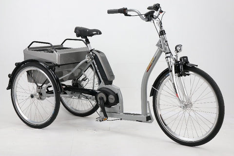Pfiff Grazia 26/24 Bosch Electric Tricycle, Silver