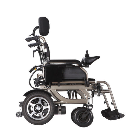 Wheelchair 88 PW-777PL Foldawheel Light Folding Electric Wheelchair