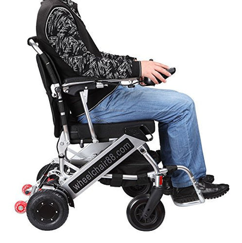 Wheelchair 88 PW-999UL Foldawheel Light Folding Electric Wheelchair