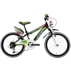 "Lombardo Artemis 6.20 20"" Kids Boys Bicycle, 99% Assembled, Black/Green - Buy Online"