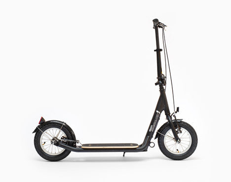 SIDEWALKER ATOM Folding Adult Scooter, BLACK/WHITE/GRAY - Buy Online