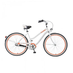 Body Glove Kwolla 26N.3 Women's Step-Through Cruiser Bicycle, White - Buy Online
