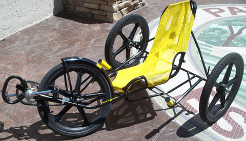 "Trialmate Banana Peel 16"" Teen Recumbent Trike - Buy Online"