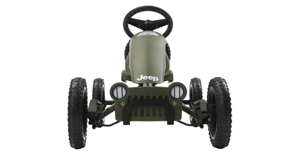 Berg USA Jeep Adventure DISCOUNT INSIDE Body Powered Pedal Go Kart ...
