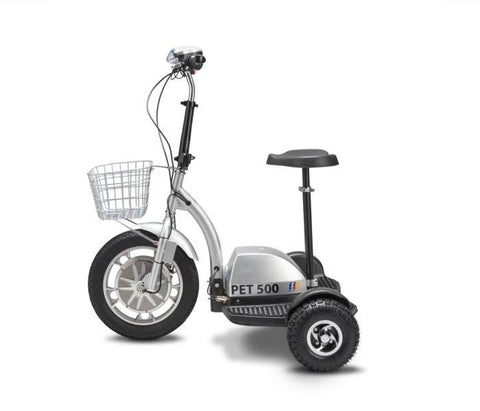 PET PRO FLEX 48V 500W 3-Wheel Foldable Electric Mobility Scooter - Buy Online