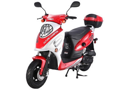 TaoTao USA CY50A VIP Moped Gas Street Legal Scooter - Buy Online