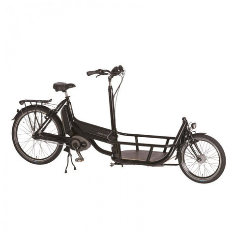Pfiff Carrier 20/26 Bosch Cargo Folding Electric Tricycle, Black - Buy Online