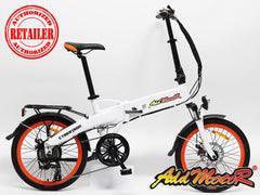 ADDMOTOR CYBERTRON C350 350W 36V 10Ah Folding Lithium Electric Bike - Buy Online
