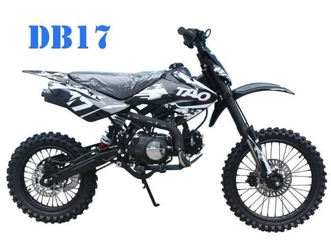 TaoTao DB17 125CC Manual Kids' Off-Road Dirt Bike, Electric Start - Buy Online