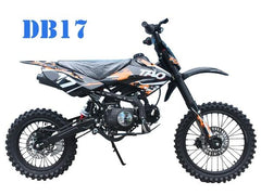 TaoTao DB17 125CC Manual Kids' Off-Road Dirt Bike, Electric Start
