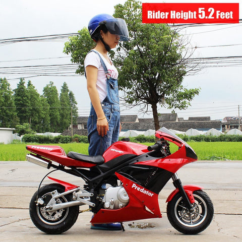 Dongfang Motor Bullet-Ant 110CC Pocket Bike Gas Motorcycle DF110RS - Buy Online