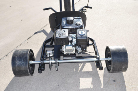 "SCOOTERX 6.5HP 196CC 4-Stroke 26"" wheel Tubular Steel Frame Gas-Powered Drift Trike"