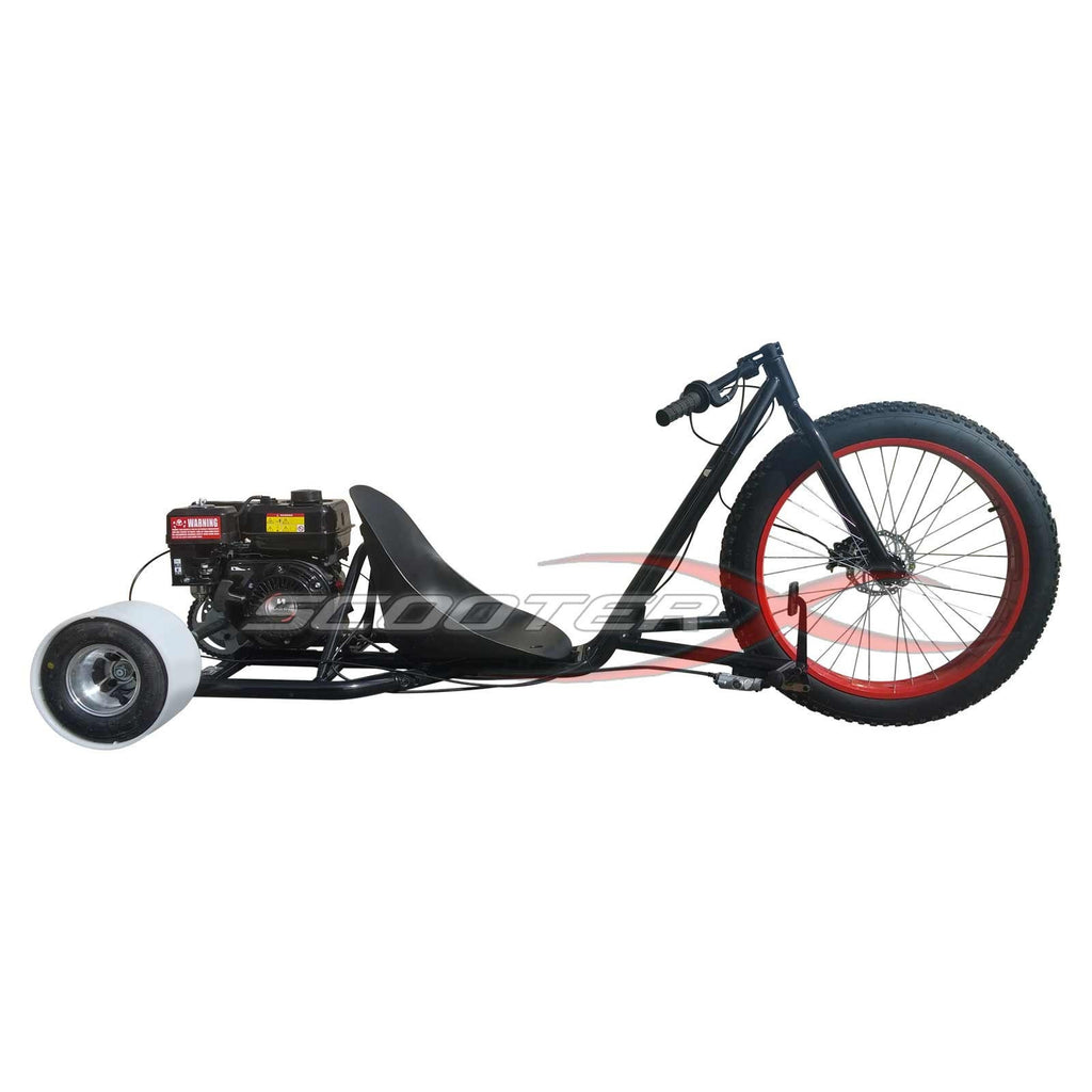 SCOOTERX 6.5HP 196cc 4-Stroke Gas-Powered Drift Trike, FREE SHIPPING ...