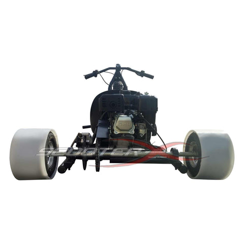 "SCOOTERX 6.5HP 196CC 4-Stroke 26"" wheel Tubular Steel Frame Gas-Powered Drift Trike - Buy Online"