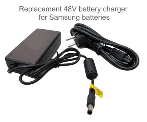 E-GO BIKE USA 48V Samsung Replacement Charger For Flash/Seagull Models - Buy Online