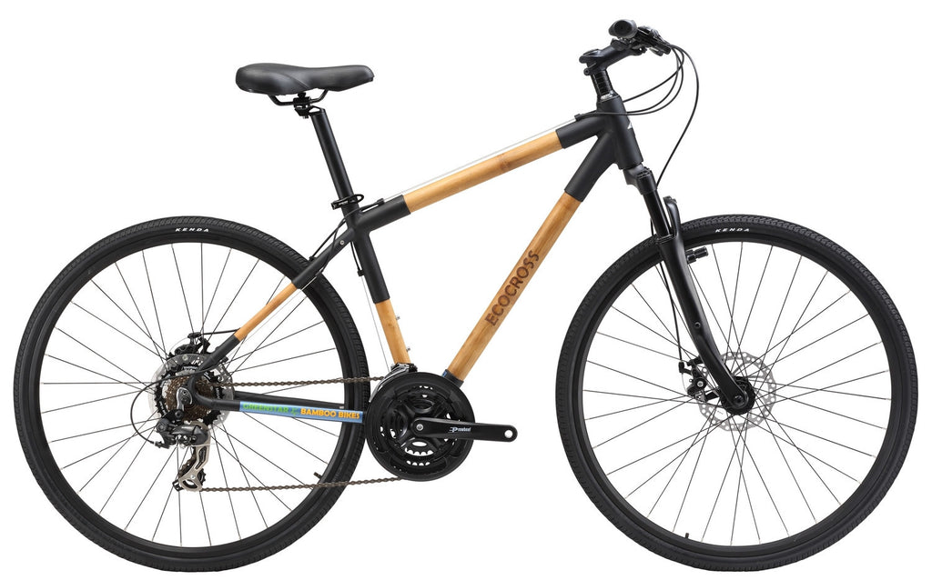 Greenstar Bikes EcoCross Hybrid 21 Speed Bamboo Bicycle TAKE $20 OFF ...