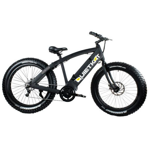 "2017 Quietkat 750W Mid-Drive 48V 19"" Fat Tire Electric Bike, QKECO750"