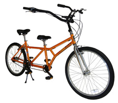 Buddy Bike Family Classic Adult Child 7 Speed Aluminum Tandem Bicycle