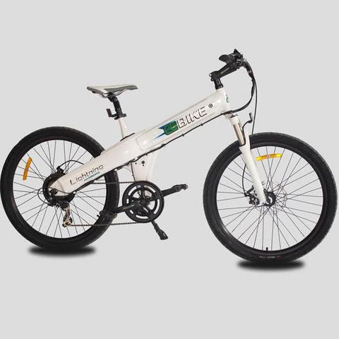 "E-GO Flash 26"" 500W 36V 10Ah Samsung Lithium Powered Electric Bicycle - Buy Online"