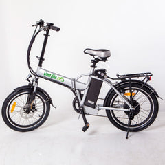 GREEN BIKE USA GB1 FOLDING ELECTRIC BIKE - COMPACT ALUMINUM FRAME (PEDAL ASSIST/TWIST THROTTLE) - Buy Online