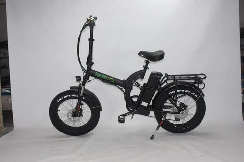 GREEN BIKE USA GB5 500 Fat Tire 500W 48V 15.6Ah Lithium Powered Folding Electric Bike - Buy Online