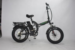 GREEN BIKE USA GB5 500 Fat Tire 500W 48V 15.6Ah Lithium Powered Folding Electric Bike