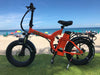Image of GREEN BIKE USA GB5 500 Fat Tire 500W 48V 15.6Ah Lithium Powered Folding Electric Bike - Buy Online