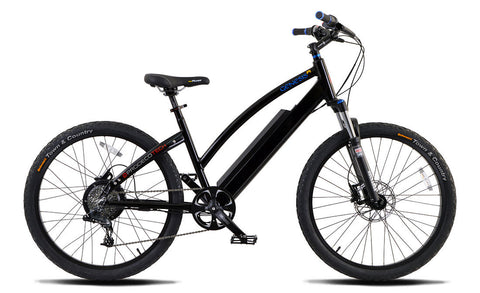 PRODECOTECH GENESIS R V5 36V 8 Speed Electric Bicycle - 300W, Rigid Frame - Buy Online