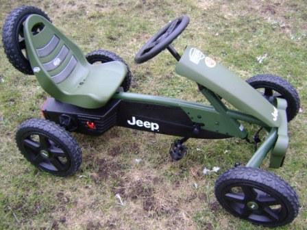 Berg USA Jeep Adventure Body Powered Pedal Go Kart - Buy Online