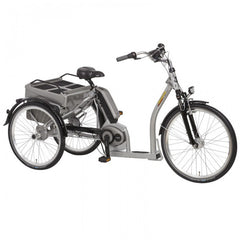 Pfiff Grazia 26/24 Bosch Electric Tricycle, Silver - Buy Online