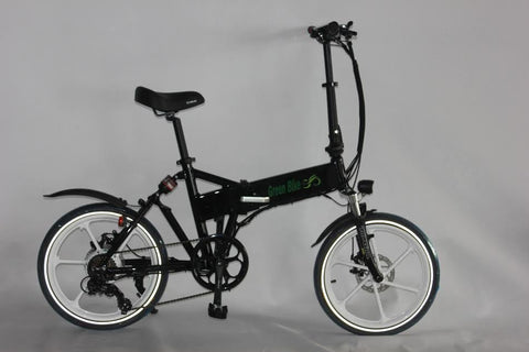 GREEN BIKE USA GB SMART - FOLDING ELECTRIC BIKE WITH LCD + SAMSUNG LITHIUM BATTERY EBIKE - Speednscooter