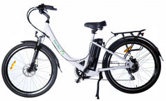 Green Bike USA GB2 Electric Bicycle w/ LCD - Long Range Aluminum Frame Step Through with Samsung Battery