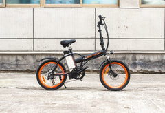 BIG CAT ALLEY CAT (Formerly HAMPTON) Folding Lithium Powered Electric Bicycle