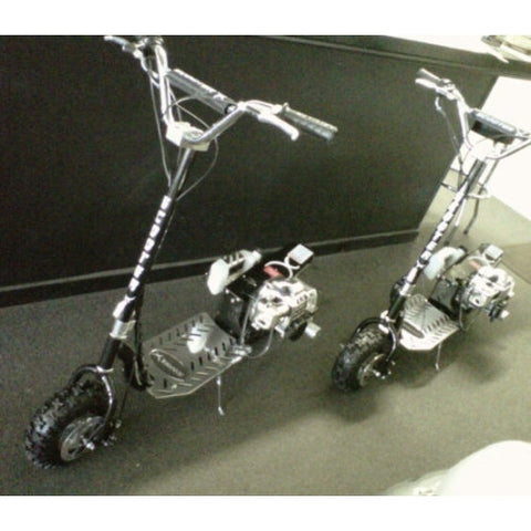"ScooterX Dirt Dog 49cc 10"" Gas Scooter Dirt Bike MX Style Adjustable Bar"