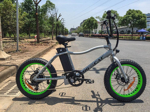 Big Cat Mini Cat XL 500 Fat Tire Lithium Powered Electric Bike - Buy Online