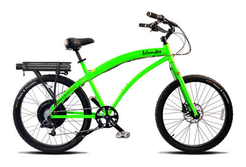 PRODECOTECH ISLANDER(Oasis) Beach Cruiser 8 Speed Electric Bicycle - 500W - Buy Online