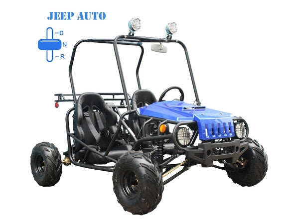 TaoTao USA Jeep 110CC Auto Gas Go Kart, Dune Buggy TAKE $20 OFF ...