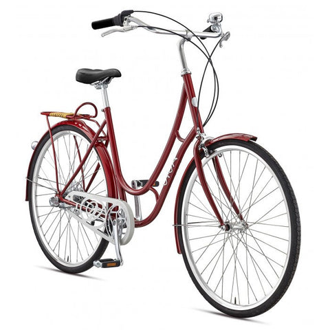 Viva Juliett 3 Cruiser Bicycle, Burgundy - Buy Online