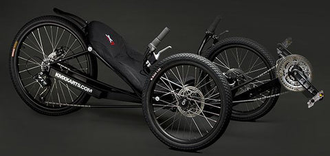 TRIKE UNIVERSE KMX KOBRA Recumbent Adult Performance Trike, 24 Speed - Buy Online