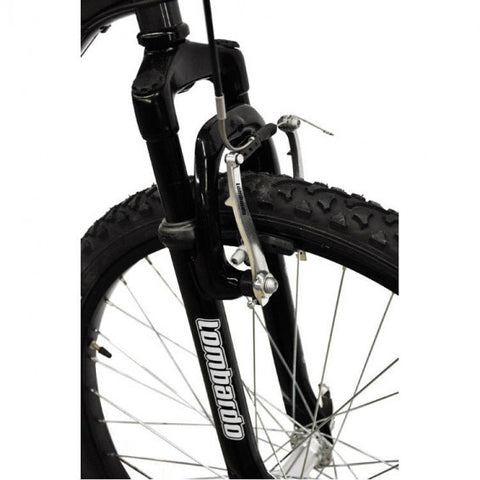 "Lombardo Tropea 24"" Men'S Mountain Bike, 99% Assembled, Anthracite/Red - Buy Online"
