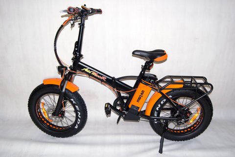Addmotor Motan M-150 Platinum 750W 48V Fat Tire Folding Lithium Electric Bike - Buy Online