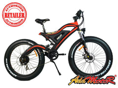 Addmotor Motan M-850 500W 48V Fat Tire Double Suspension Electric Bike
