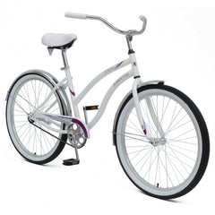 Mantis Dahlia Ladies Women's Cruiser Step Through Bicycle - White